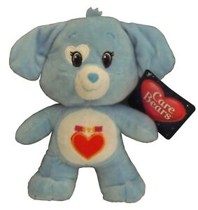 "Loyal Heart Dog Blue 3 Care Bears 8.5/"" Cousins Plush Doll Toy NEW"