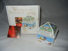 Hutschenreuther Spieldose Spieluhr 1998 Erstausgabe + OVP (meine Nr. 1998-15)