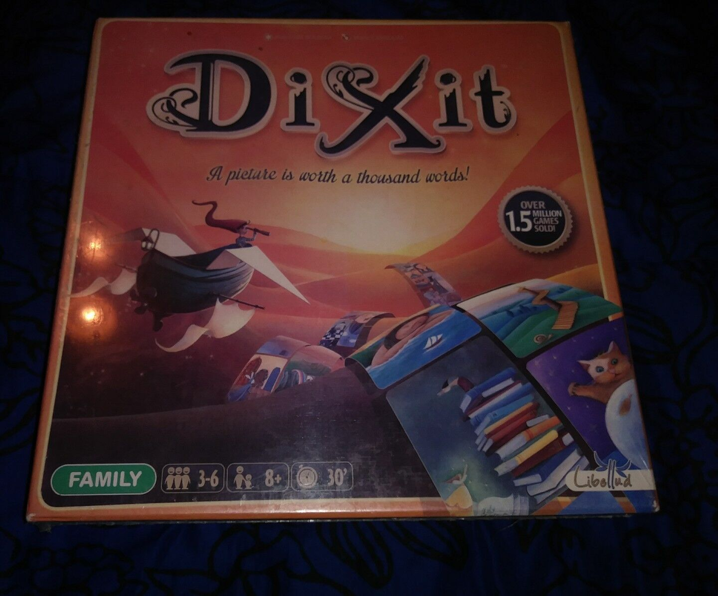 New Dix It Family Illustrated Board Game 2016 Of Creative GuessworkFreeshipping