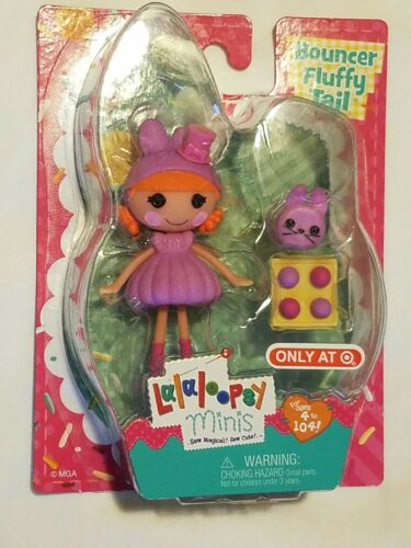 Target exclusive mini lalaloopsy Bouncer fluffy tail