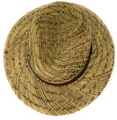 Strohhut Herren Damen Sommerhut Panama Hut Strandhut Sonnenhut Erntehut Sommer