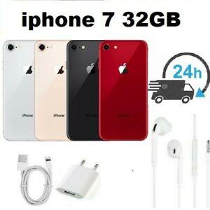 APPLE IPHONE 7 32GB NOIR ROSE ARGENT OR Rouge Reconditionné