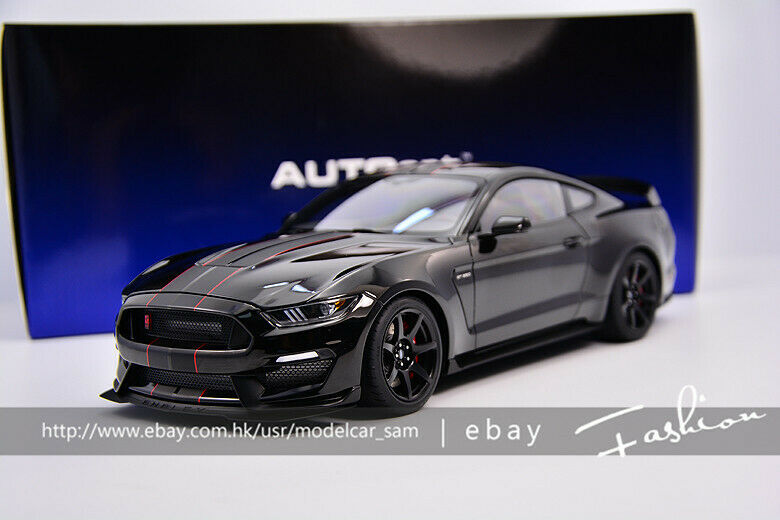 Autoart 1 18 Ford GT350R Mustang Shelby Negro