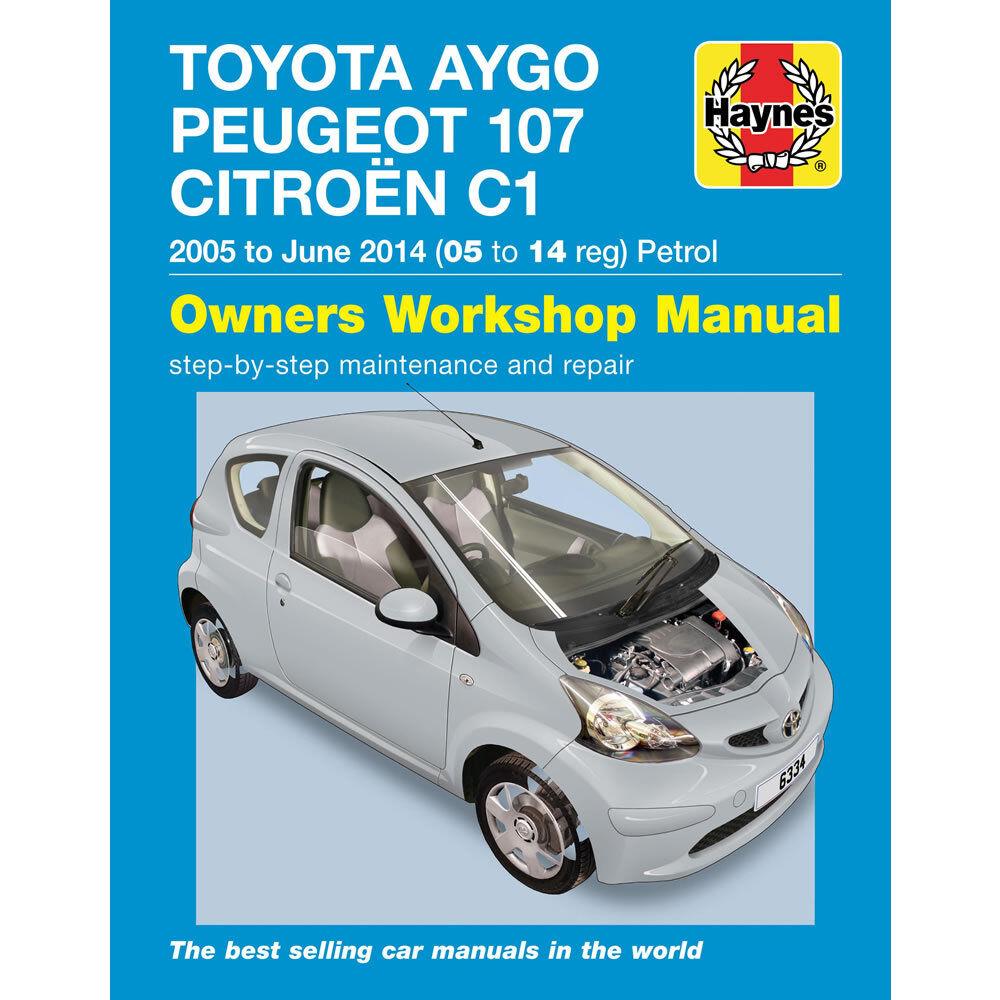 toimitilaa.fi Haynes Handbuch Citroen C1/Peugeot 107/Toyota Aygo ...