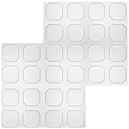 20 Qm Savings Package Ceiling Tiles Polystyrene Plates Decor 50x50cm No.01
