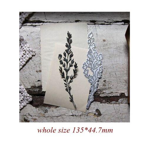 Embroidery Flower /& Plant Metal Cutting Dies Album Scrapbooking Embossing Craft