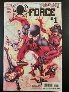 X-FORCE-1a-Spider-Geddon-2019-Marvel-Comics-VF-NM-Comic-Book