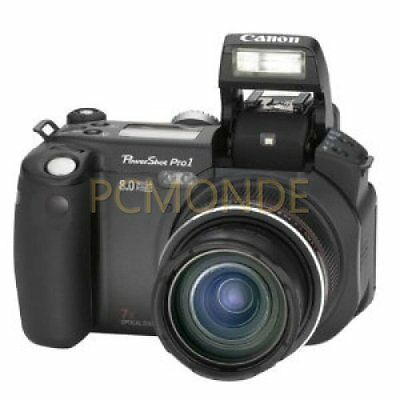 Canon Powershot Pro1 8mp Digital Camera 7x Optical Zoom (9140a001)