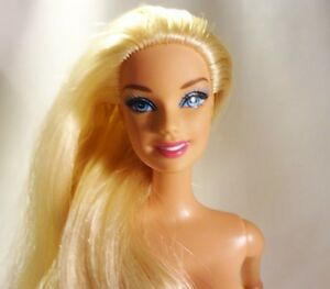 Phrase A real nude blond barbie theme simply