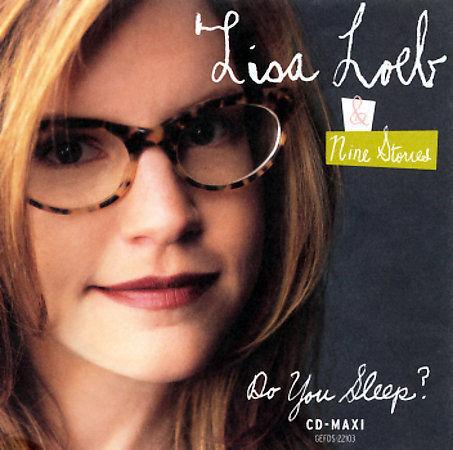 Do You Sleep [CD Single] [Single] by Lisa Loeb & Nine Stories (CD, Sep-1995, Gef