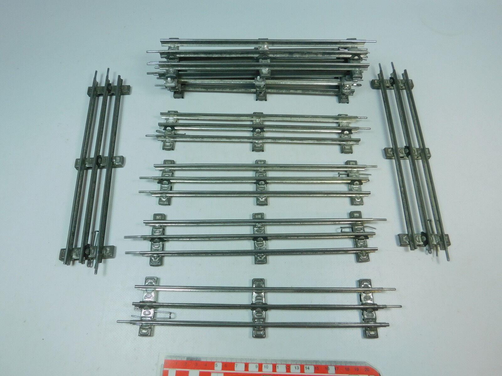 Av42-2    10x marklin Marklin Traccia 0 pezzo di binario (26 cm) per diverdeimentozionamento elettrico 542f6a