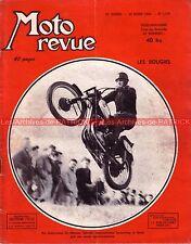 MOTO REVUE 1179 ZUNDAPP 250 Elastic CAMUS 175 Equivalence bougies 14 LAPIZE 1954