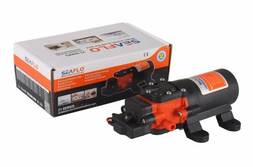 SEAFLO 4 LPM Water System Pump 12V 35 PSI for Marine Boat RV