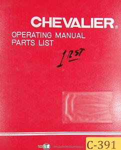 chevalier fsg 1020 ad grinding attachment operations parts rh ebay com Chevalier 3VKH FM