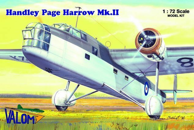 Valom 1 72 Handley-Page Harrow Mk.II (24th Maintenance Unit)