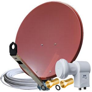 Sat-Schuessel-GIBERTINI-75-cm-ALU-mit-LNB-Twin-und-Kabel-120-Full-HD-TV-Anlage