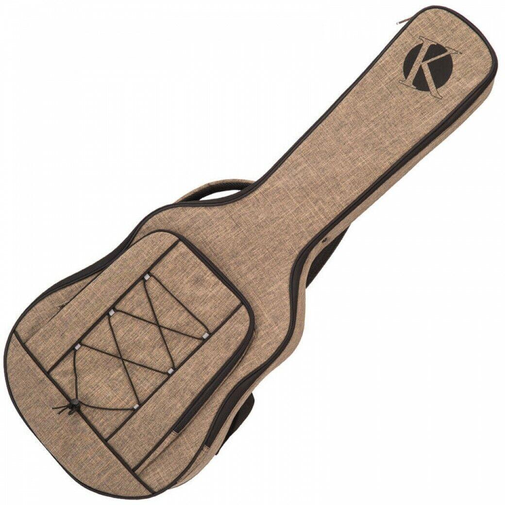 Verwandter Ultima Dreadnought Gitarre Tasche - KUDG2 Braun Leichtgewicht mit