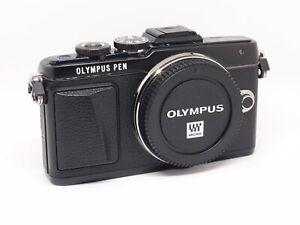 Corpo Fotocamera Digitale Mirrorless Olympus E-PL7 Black - 2600 scatti
