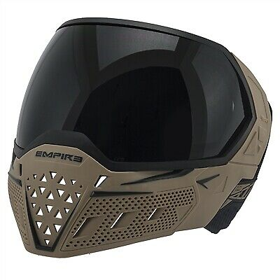 Empire Evs Thermal Paintball Mask Tan Black For Sale Online Ebay