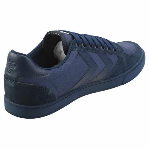 hummel Slimmer Stadil Tonal Low Hombres Dress Blue Zapatillas Casual