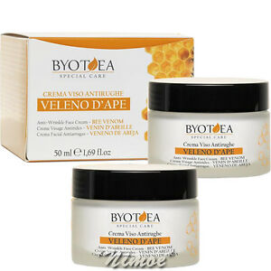 Anti-Wrinkle-Face-Cream-Bee-Venon-50ml-x-2-Special-Care-Byotea-Veleno-d-039-Ape