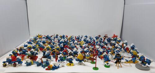 Schleich Smurfs Figures 1970/'s//80/'s Massive Collection Of RARE Vintage Peyo