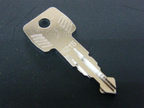 Thule Schlüssel N215 N 215 Ersatzschlüssel für Heckträger Dachboxen Dachträger