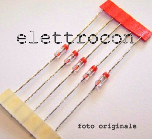 2 pezzi Diodo 1N34A Germanium Diode Radio AM FM TV Detector package DO-7