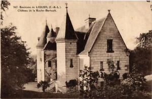 CPA AK Env. de Ligueil Chateau de la Roche-Bertault (611787)