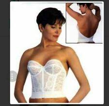 4c8c7051e Goddess Lace Strapless Underwire Low Back Bridal Style 688 Bustier Bra  Corset