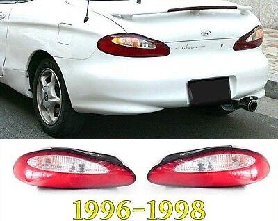 Coupe Rear Combination Tail Lamp for 2002 2003 2004 Hyundai Tiburon Left