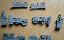 36 Ariel 350cc british motorcycle two pieces! 1/72 resin