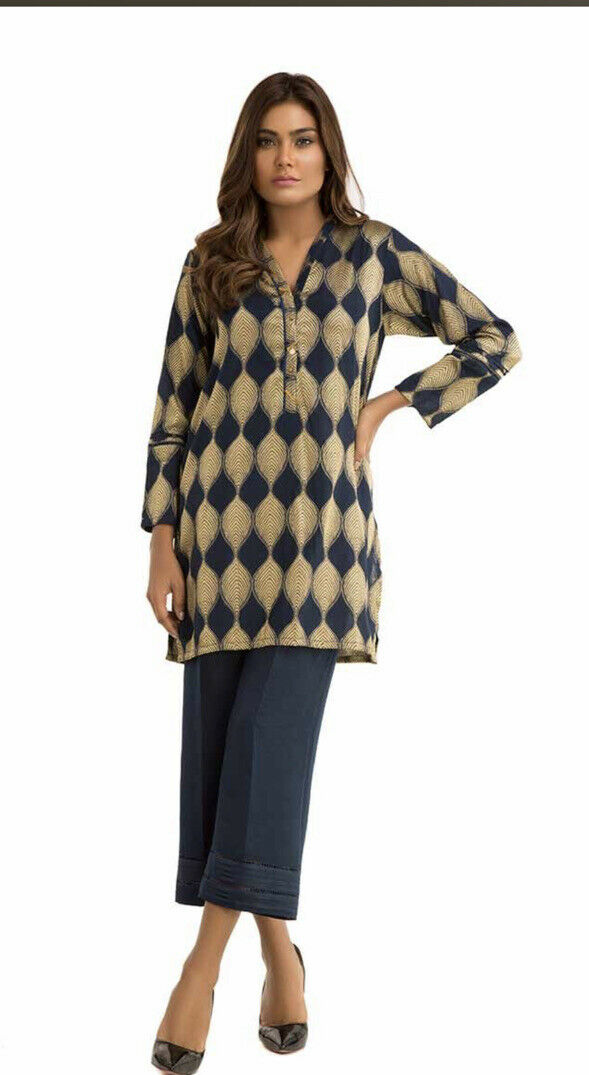 Ideas Small Formal Collection Jacquard Kurta With Trousers