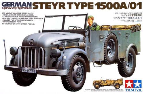 TAMIYA German Steyr Type 1500A//01 échelle 1:35 #35225 Kit