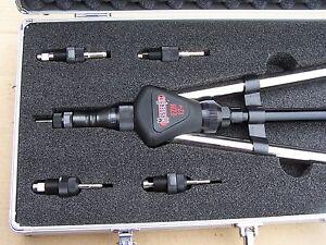 Masterfix EZM12+ für Edelstahl Nietmuttern M5 - M12 Koffer auch Alu und Stahl K