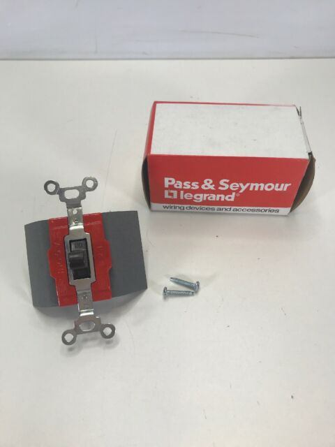 Pass  U0026 Seymour 1225 Manual Controller 3pos Maintained