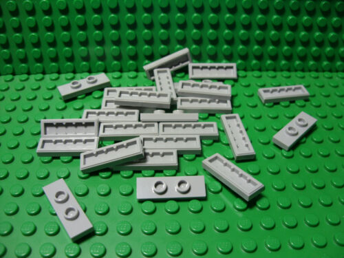 "**25 CT LOT** Lego NEW light bluish gray 1x3 pieces /""double jumper/"" pcs A-113"