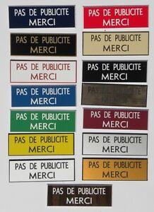 sticker-stop-pub-034-PAS-DE-PUBLICITE-MERCI-034-format-20x60-mm-15-couleurs