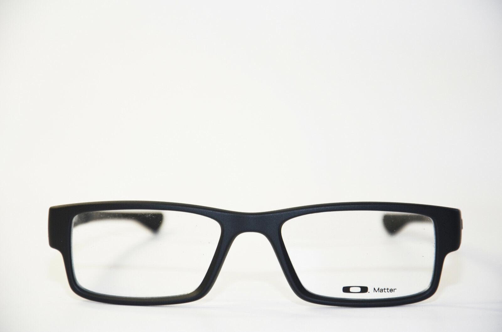 OAKLEY Airdrop 8046 01 5318 satin black Brille Kunststoff schwarz NEU