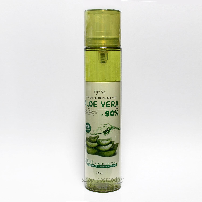Esfolio Moisture Soothing Gel Mist Aloe Vera Purity 90 120ml Ebay La Mer The Norton Secured Powered By Verisign