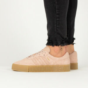 on sale b52be 6e0fa Image is loading WOMEN-039-S-SHOES-SNEAKERS-ADIDAS-ORIGINALS-SAMBAROSE-