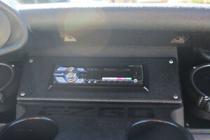E Z Go Rxv 2five Golf Cart Stereo Radio Pod Enclosure Kit