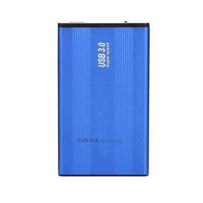 2.5'' Portable USB 3.0 External Hard Drive HD SATA Disk Enclosure Case Blue New