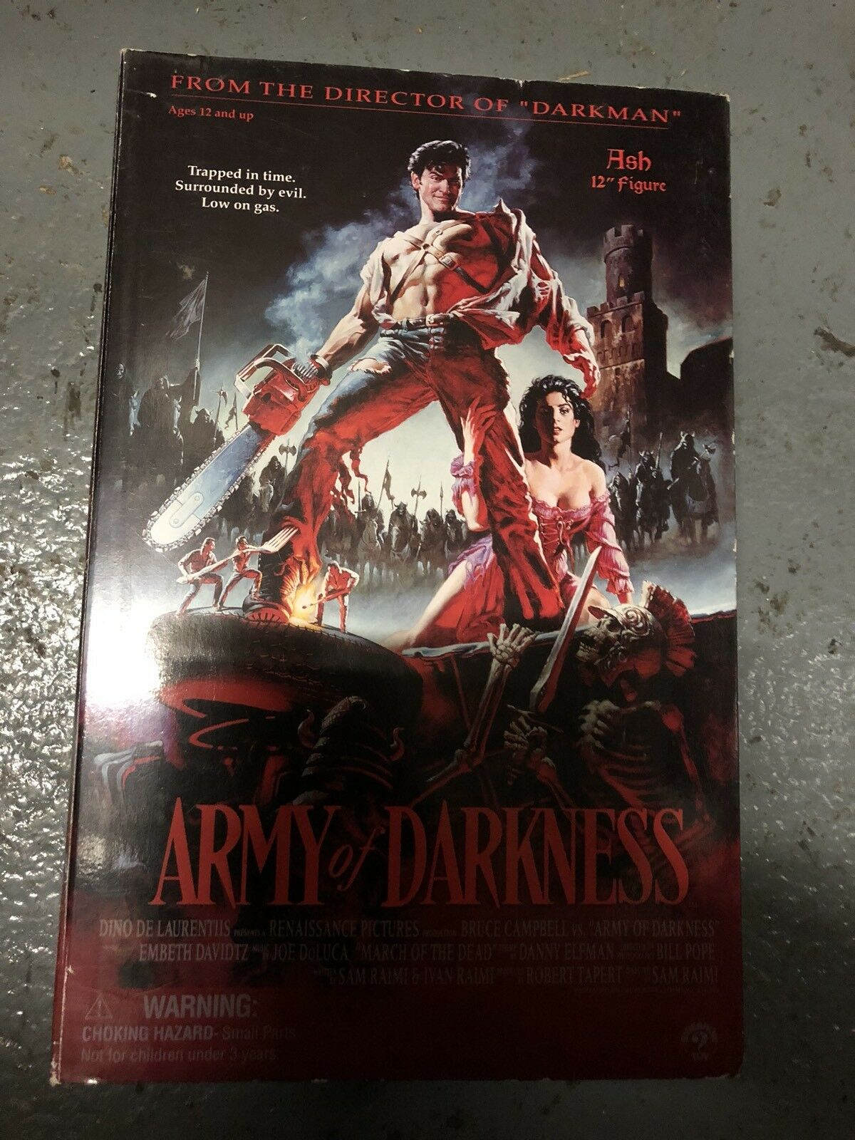 Sideshow Evil Dead Army of Darkness  Ash AF SSC  201  authentique