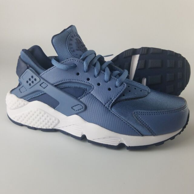 0d2b9971c872 Nike Air Huarache Run Women s Size 6.5 Shoes Ocean Fog Midnight Navy White