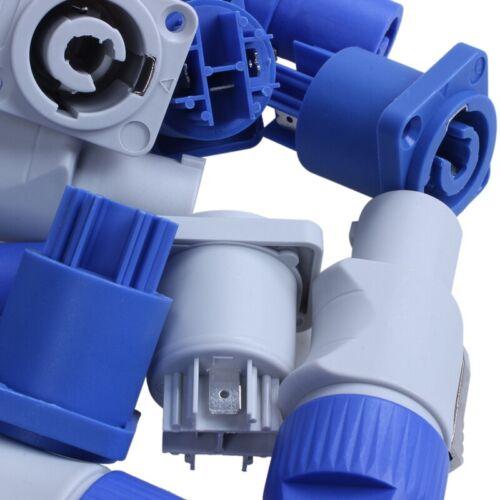 NAC3MPA-1 Chassis Plug Panel Adapter F7G8 10Er Set PowerCON Typ A NAC3FCA