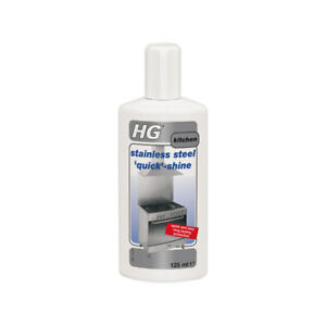 Image Is Loading Hg Stainless Steel Quick Shine 125ml