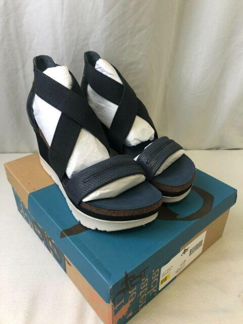 OTBT Half Moon Women's Wedge Sandals King Blue Size 10
