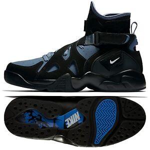 classic fit e3a57 866fe Image is loading Nike-Air-Unlimited-889013-003-Black-Slate-Ultramarine-