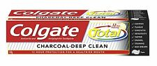 Colgate Total Charcoal Deep Clean Toothpaste 140gm with 12 Hour Protection, F.S.